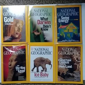 Jan 2009- May 2009 National Geographic with map